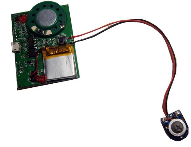 Перезаписываемый модуль с кнопкой