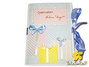 """Новогодняя открытка """"Коробка подарков"""""""