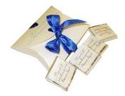 Шоколадные приглашения - с вашим звуком