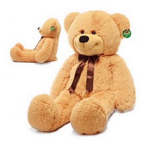 Мягкий говорящий медведь с вашим звуком 50 см